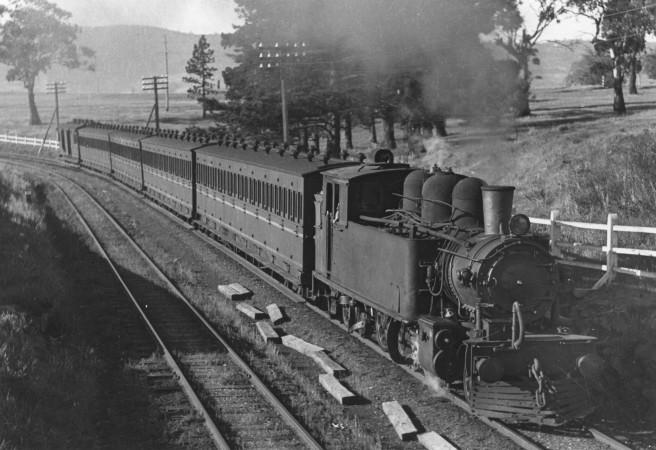 4T5 Cadbury's train
